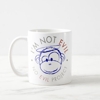 I'm Not Evil Circle Mug