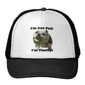 I'm not fat Bulldog baseball hat