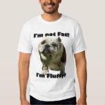 I'm not fat Bulldog tank top