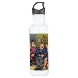 I'm Not Fat, I'm A Sprinter! beverage bottle 24oz Water Bottle