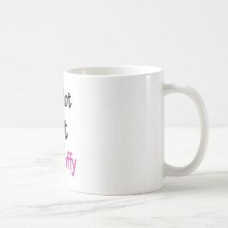 I'm Not Fat I'm Fluffy Coffee Mug