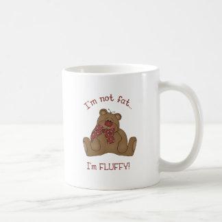 I'm not fat, I'm fluffy! Coffee Mugs