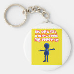 I'm Not Fat Keychains