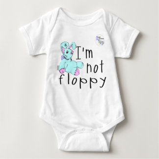 I'm Not Floppy! Down's Syndrome Awareness Tshirt