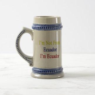 I'm Not From Ecuador I'm Ecuador Coffee Mug