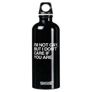 I'M NOT GAY BUT I DON'T CARE IF YOU ARE SIGG TRAVELER 0.6L WATER BOTTLE