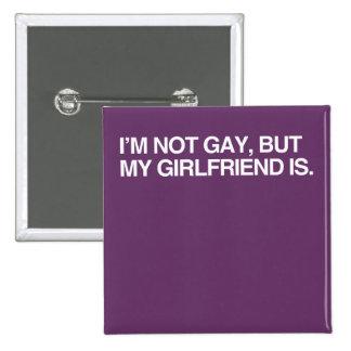 I'M NOT GAY, BUT MY GIRLFRI PINS