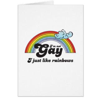 Im not Gay dark Card