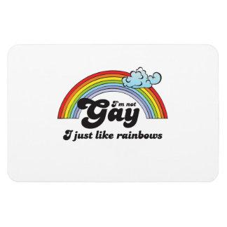 Im not Gay dark Rectangular Photo Magnet