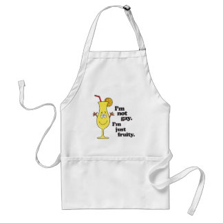 I'M NOT GAY. I'M JUST FRUITY.png Adult Apron