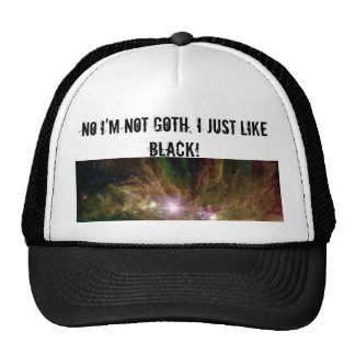 Im not goth item #1 trucker hat