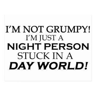 IM NOT GRUMPY POSTCARD