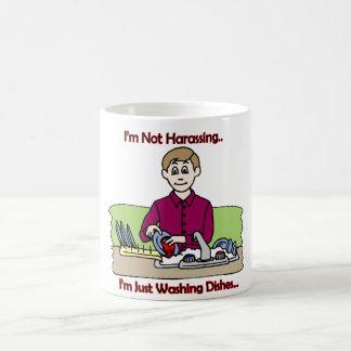 I'm Not Harassing! - Mug