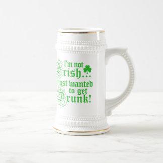 I'm Not Irish Beer Stein