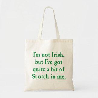 I'm Not Irish - Funny Scotch Whisky Pun Tote Bag