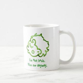 I'm not Irish. Kiss me anyway Mug