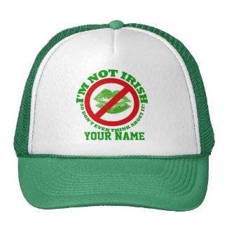 I'm not Irish, St Patrick's day Mesh Hats