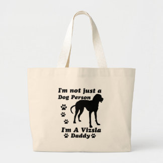 I'm Not Just a Dog Person; I'm A Vizsla mommy Canvas Bag