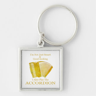 I'm Not Just Smart and Good-Looking Accordion Keychain