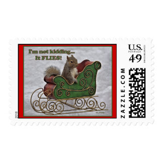 I'm not kiding... It FLIES! Postage Stamps