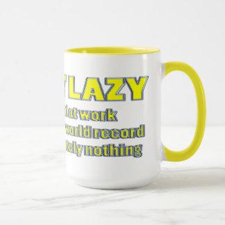 i'm not lazy mug