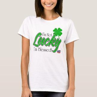 I'm Not Lucky, I'm Blessed! Irish T-Shirt