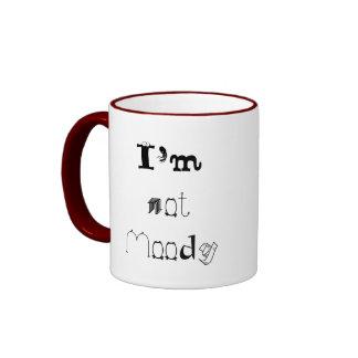 I'm not Moody, I'm Dramatic Ringer Coffee Mug