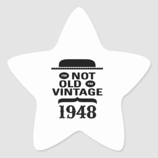 I'm not old, I'm vintage 1948 Stickers