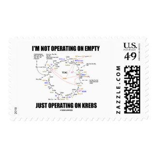 I'm Not Operating On Empty Just Operating On Krebs Postage