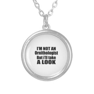 I'm not Ornithologist but i'll take a look Round Pendant Necklace