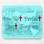 I'm Not Perfect Mouse Mats