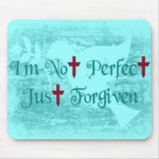 I'm Not Perfect Mouse Pad