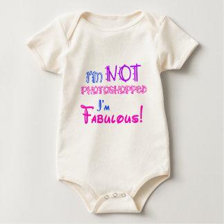 I'm Not Photoshopped! Baby Bodysuit