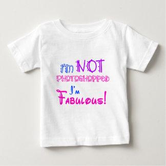 I'm Not Photoshopped! Baby T-Shirt