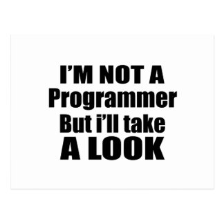 I'm not Programmer but i'll take a look Postcard