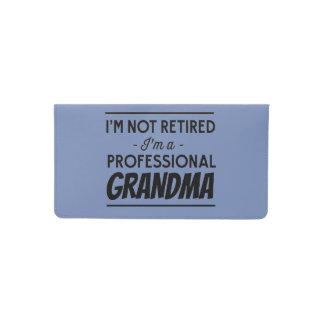 Im Not Retired Im a Grandma Checkbook Cover