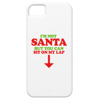 I'm not Santa -- Holiday Humor iPhone 5 Cases