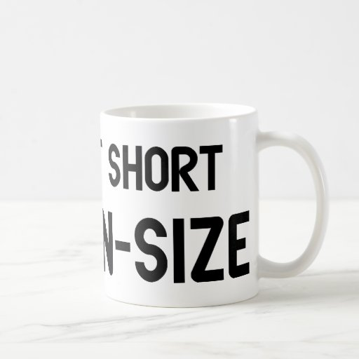 I'm Not Short I'm Fun Size Classic White Coffee Mug