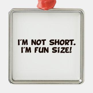 I'm Not Short I'm Fun Size Ornaments