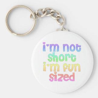 I'm not short I'm fun sized keychain