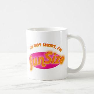 I'M NOT SHORT, I'M FUNSIZE CLASSIC WHITE COFFEE MUG