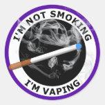 I'M NOT SMOKING I'M VAPING STICKER
