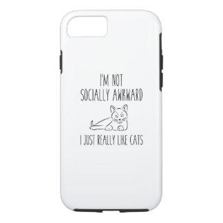I'm Not Socially Awkward iPhone 7 Case