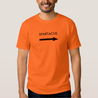 I'M NOT SPARTACUS SHIRT
