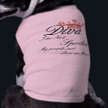 """I&#39;m Not Spoiled! Diva Dog t-shirt<br><div class=""""desc"""">Trendy Diva pet shirt. Cute puppy shirts come in all sizes. Design your own! Personalize your dogs shirt with a name or your own words! How cool is this shirt!</div>"""