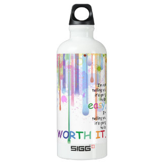 I'm Not Telling You It's Going To Be Easy... Water Bottle