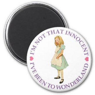 I'M NOT THAT INNOCENT 2 INCH ROUND MAGNET