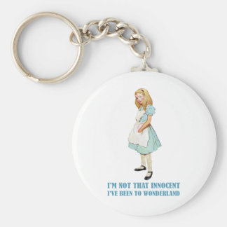 I'm Not That Innocent. I've Been To Wonderland. Keychain