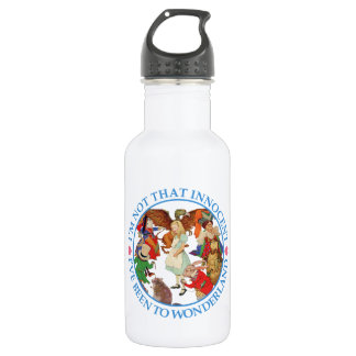 I'm Not That Innocent, I've Been to Wonderland. Stainless Steel Water Bottle