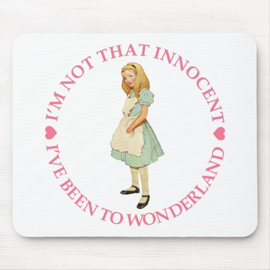 I'M NOT THAT INNOCENT MOUSE PAD
